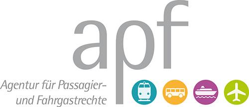 Logo von APF. Agentur für Passagier- und Fahrgastrechte