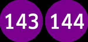 Linie 143,144