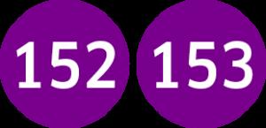Linie 152,153