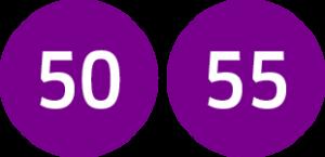 Linie 50,55