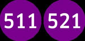 Linie 511,521
