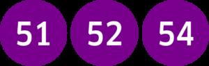 Linie 51,52,54