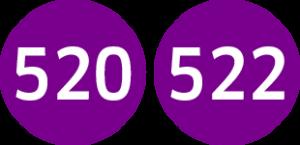Linie 520,522