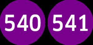 Linie 540,541