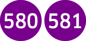 Linie 580,581