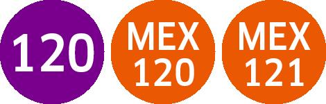 Signet Linie 120 MEX 120