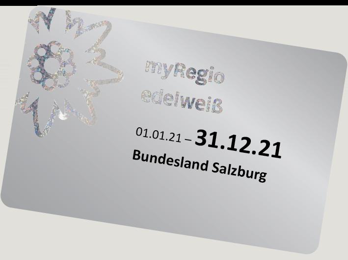 Bild des myRegio Edelweiß-Ticket
