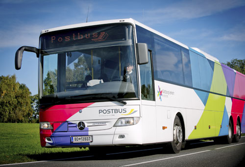 Bild von Bus für Verbindung