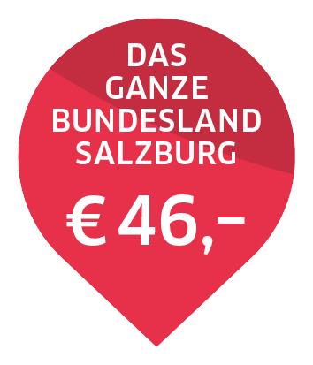 Bubble Das ganze Bundesland Salzburg 46 Euro