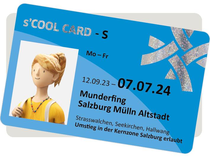Bild der s´COOL-CARD
