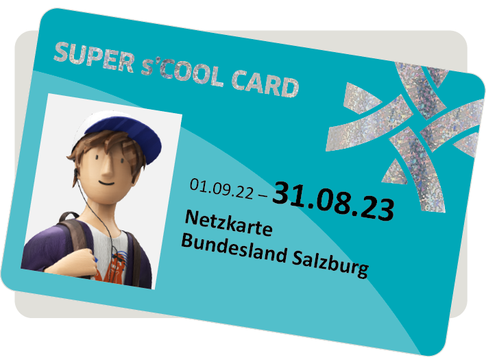 Bild der s´COOL-CARD Karte