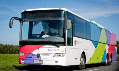 Foto von einem Postbus
