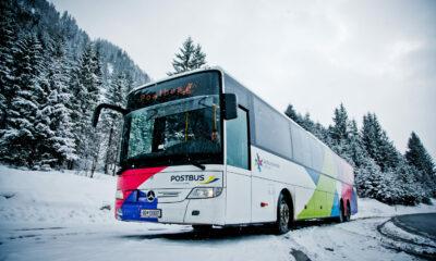 Imagebild Winter Bus