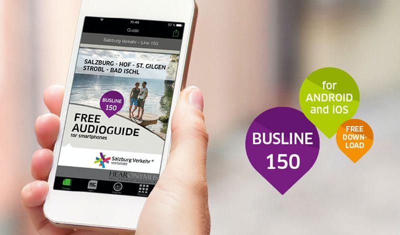 Bild der Audioguide App für Salzburg