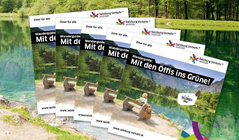 Bild der kostenlose Wanderguide Broschüre
